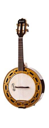 Banjo Rozini Profissional Elétrico Escuro RJ12 EL.N.J