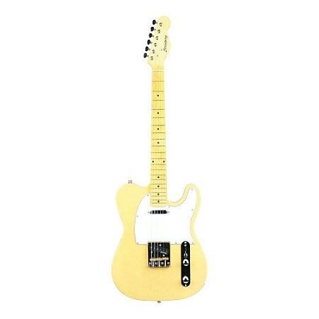 Guitarra Strinberg Telecaster TC120s Branca Vintage
