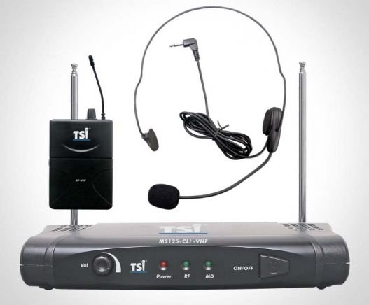 Microfone TSI MS125cli VHF Headset