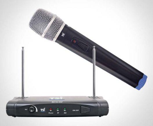 Microfone TSI MS125 VHF Mão