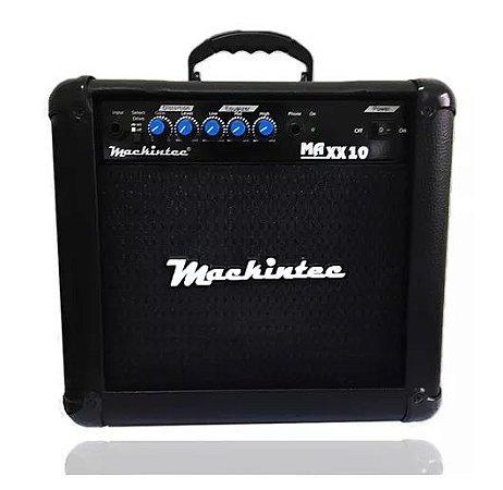 Cubo Amplificador De Guitarra Maxx10 Mackintec Preto