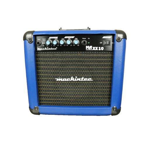 Cubo Amplificador De Guitarra Maxx10 Mackintec Azul