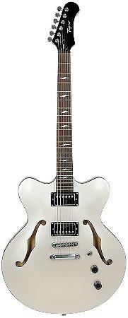 Guitarra Tagima Seattle Semi acústica Branca Acompanha case