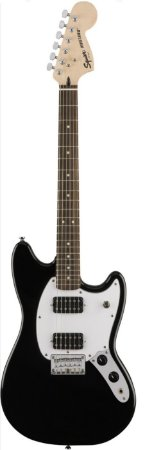 Guitarra Fender Squier Bullet Mustang Preta