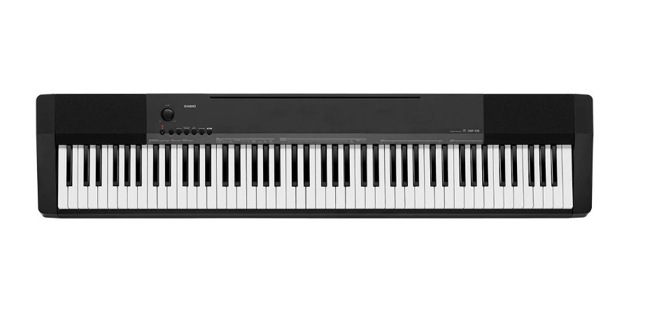 Piano Casio CDP135 Dual-element AHL 10 timbres 8W+8W 88 Teclas