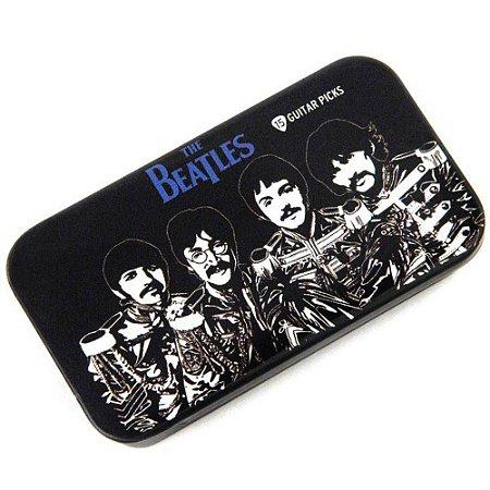 Kit 15 Palhetas Guitarra Violão The Beatles Sgt. Peppers
