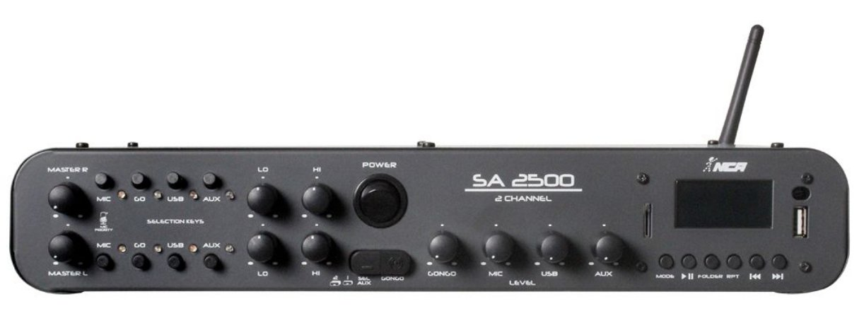Amplificador Compacto Linha SA  SA2500
