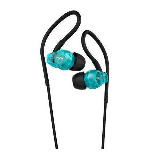 Fone de Ouvido Vokal E20 In Ear Com Microfone embutido Azul