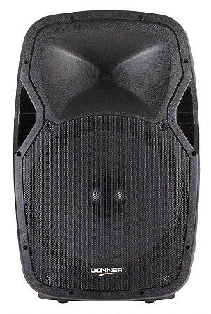 Caixa Acústica Ativa Donner Edge1500 15 Polegadas