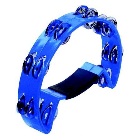 Pandeiro Meia Lua Torelli Colorido TP315 Azul