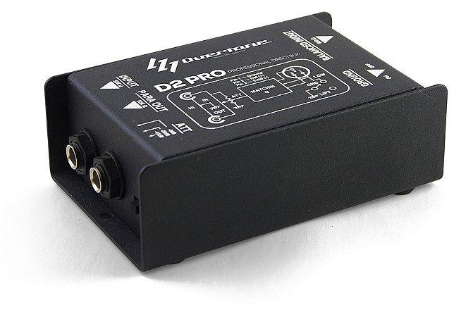 Direct Box Overtone D2 Pro Passivo