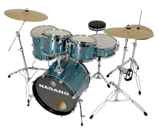 Bateria Nagano Garage Rock 22 Ocean Sparkle By Tagima