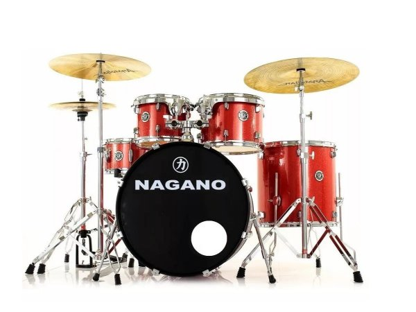 Bateria Nagano Garage Rock 22 Vermelha By Tagima