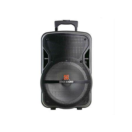 Caixa Star Sound SS80 Bateria Bluetooth FM/SD/USB
