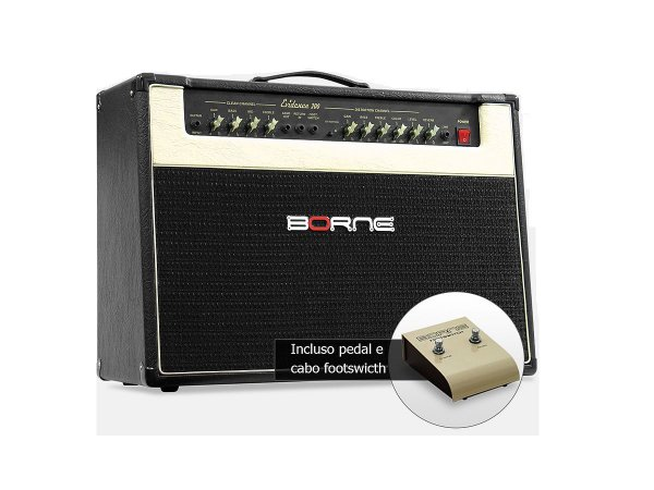 "Amplificador Para Guitarra Borne Evidence200 2 falantes 12"""