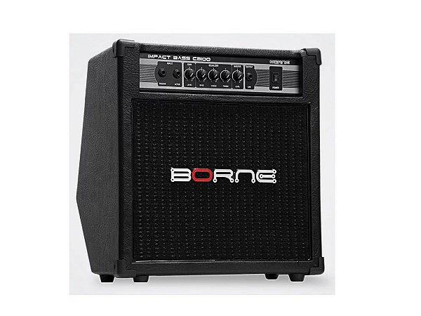 Amplificador Para Contra Baixo Borne Impact Bass CB100