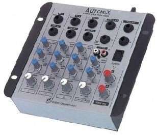 Mesa de Som LL Automix A402R - 4 Canais - 12V