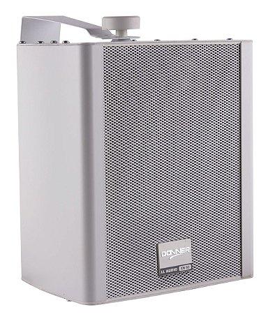 Caixa de Som Ambiente Par Donner KW50 Branca 80W RMS
