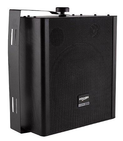 Caixa de Som Ambiente Par Donner KW60 Preta 120W RMS