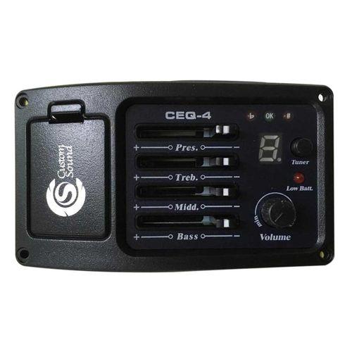 Pré Amplificador Afinador CEQ4