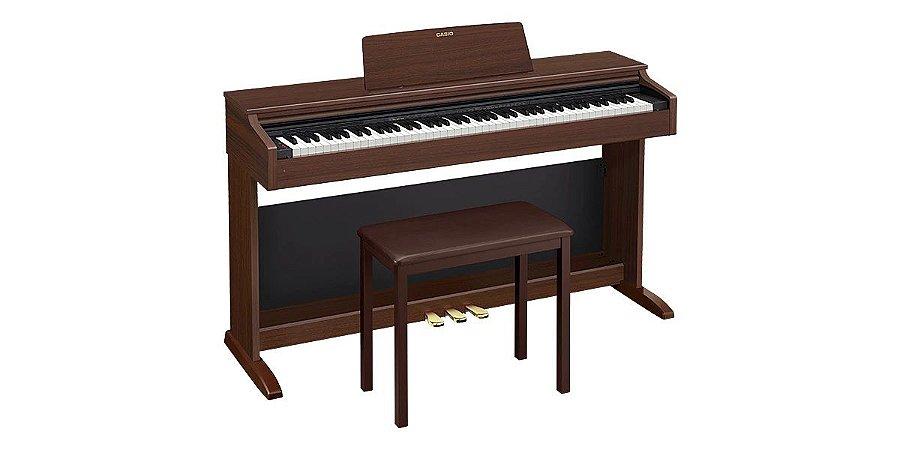 Piano Casio Digital Celviano AP270 Marrom