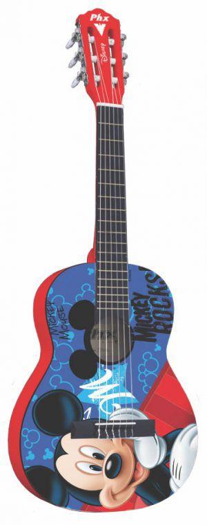 Violão Infantil PHX Disney Mickey Rocks Vid-mr1