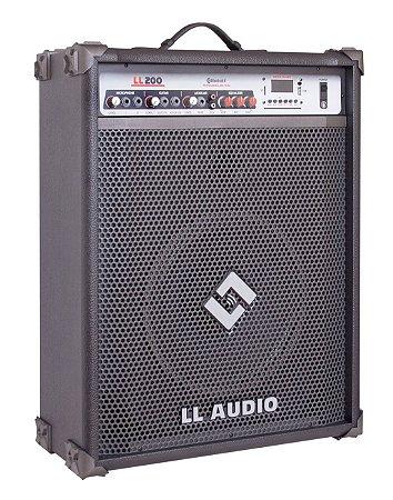 Caixa de Som Multiuso LL200 BLUETOOTH - USB - FM