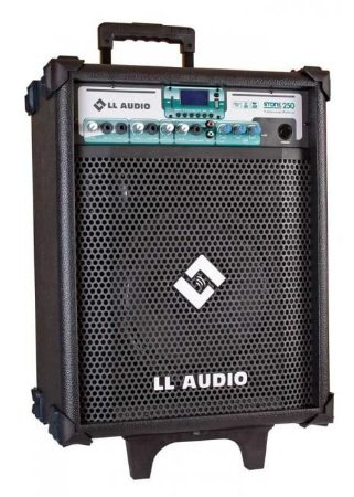 Caixa de Som Amplificada Multiuso Stone 250 FM/USB/BLUETOOTH + Microfone