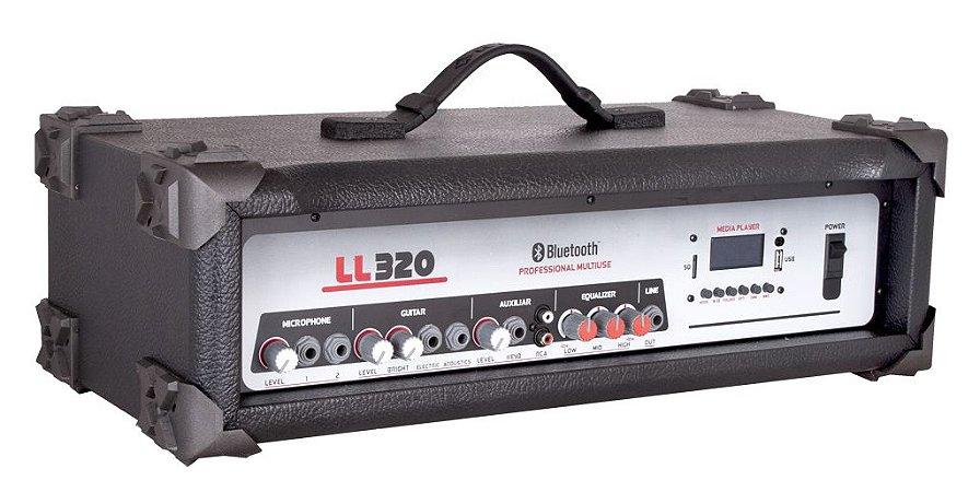 Cabeçote Multiuso Amplificado LL320 BT/ Bluetooth/ USB/ SDCARD/ AM-FM