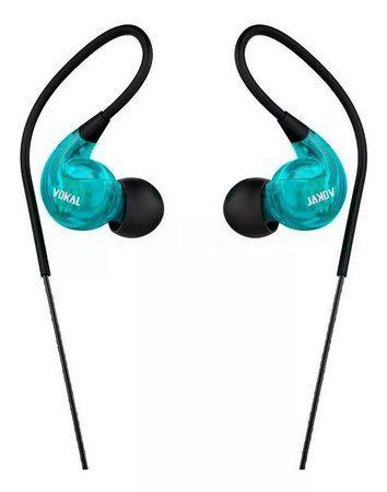 Fone de Ouvido Vokal E40 In Ear Azul