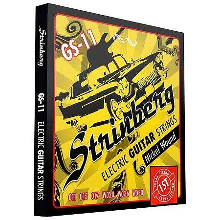 Encordoamento Strinberg Guitarra Gs11 011