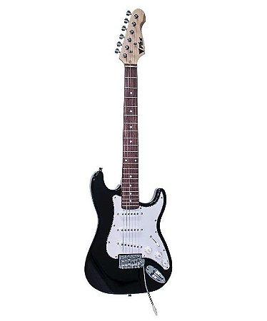 Guitarra PHX Stratocaster Juvenil IST1 3/4 Preta