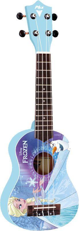 Ukulele PHX Frozen Blue Soprano UKPF1 Acompanha Capa