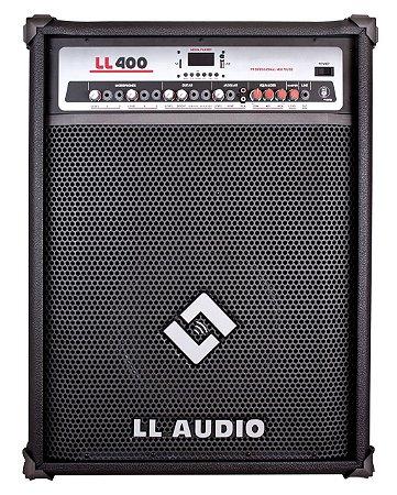 Caixa Amplificada Multi Uso - LL400 BLUETOOTH/USB/SD CARD/RÁDIO