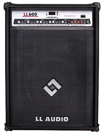 Caixa Amplificada Multi Uso - LL600 BLUETOOTH/USB/SD CARD/RÁDIO