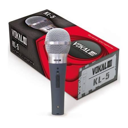Microfone de mão com fio Vokal kl-5