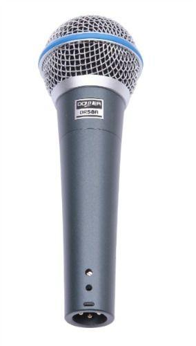Microfone Donner com Fio DR58A Acompanha Cabo