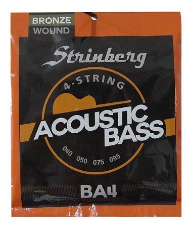Encordoamento Strinberg  para Baixolão 4 cordas - BA-4