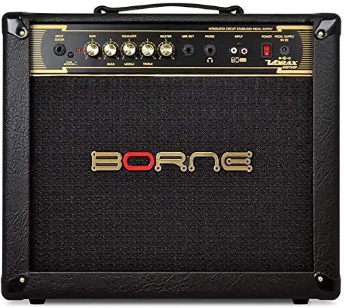 Amplificador Para Guitarra Borne Vorax1050 Preto