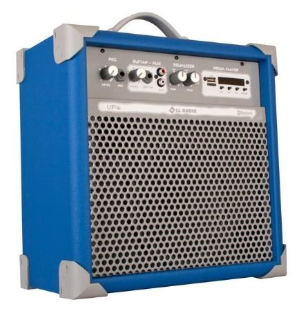Caixa de Som Amplificada Multiuso UP!6 FM/USB/BLUETOOTH - Azul