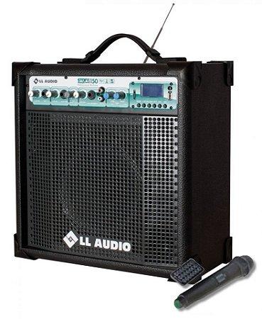 Caixa de Som Amplificada Multiuso Stone 150 FM/USB/BLUETOOTH + Microfone