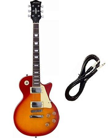 Guitarra Strinberg Les Paul LPS230 Cherry Cabo P10 Brinde
