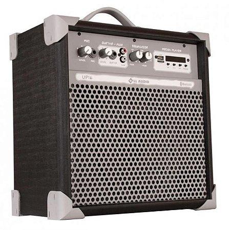 Caixa de Som Amplificada Multiuso UP!6 FM/USB/BLUETOOTH - BK