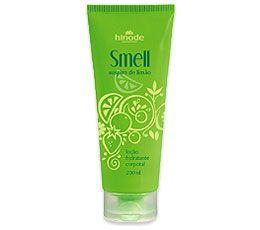 Smell Loção Hidratante Desodorante Corporal Suspiro de Limão 200ml