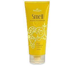 Smell Loção Hidratante Desodorante Corporal Mousse de Maracujá 200ml