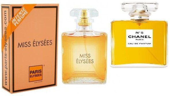 Chanel 5* (Miss Elysees) 100 ML