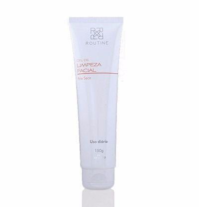 Gel De Limpeza Facial Pele Seca, 150g / Routine