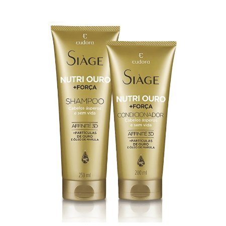 Combo Nutri Ouro Siáge Shampoo + Condicionador