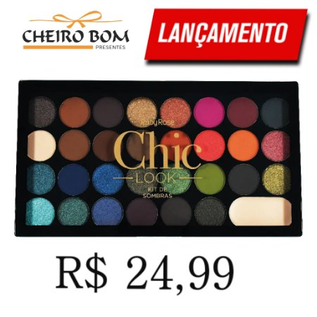 Paleta De Sombras Chic Look - Ruby Rose