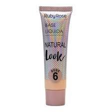 Base Líquida Natural Look Bege 6 - Ruby Rose